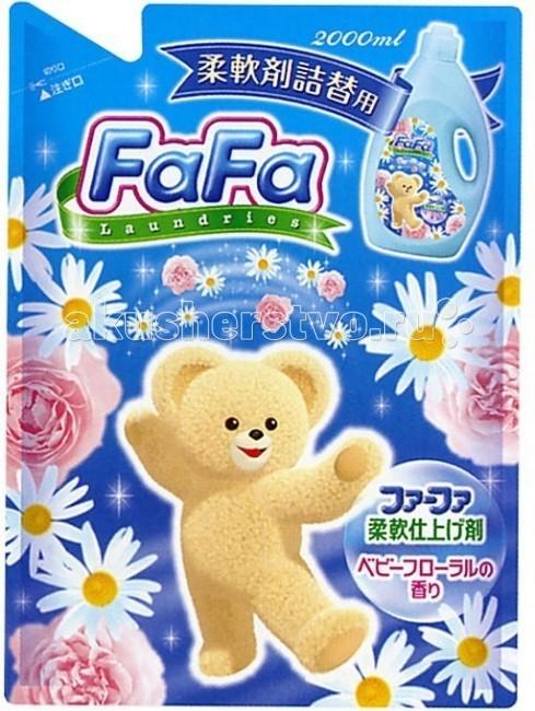 NS Fa-Fa Кондиционер для детского белья с цветочным ароматом 2000 мл