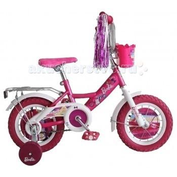 Велосипед двухколесный Navigator Barbie 12 BABarbie 12 BAВелосипед Navigator Barbie 12 BA - это хорошо собранный и надёжный велосипед для ребёнка.   Особенности: Тип: детский Материал рамы: сталь Амортизация: отсутствует Конструкция вилки: жесткая Конструкция рулевой колонки: неинтегрированная, резьбовая Диаметр колес: 12 дюймов Материал обода: алюминиевый сплав Двойной обод: нет Материал бортировочного шнура: металл Возможность крепления боковых колес: есть Боковые колеса в комплекте: есть Тип переднего тормоза: отсутствует Тип заднего тормоза: ножной Уровень заднего тормоза: начальный Количество скоростей: 1 Уровень каретки: начальный Конструкция каретки: неинтегрированная Тип посадочной части вала каретки: квадрат Количество звезд в кассете: 1 Количество звезд системы: 1 Конструкция педалей: платформы Конструкция руля: изогнутый Настройка положения руля: регулируемый подъем Комплектация: багажник, крылья Материал рамки седла: сталь Комфорт: защита цепи<br>