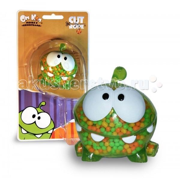 1 Toy Cut the Rope Фигурка мялка Ам Ням с пластмассовыми конфетами