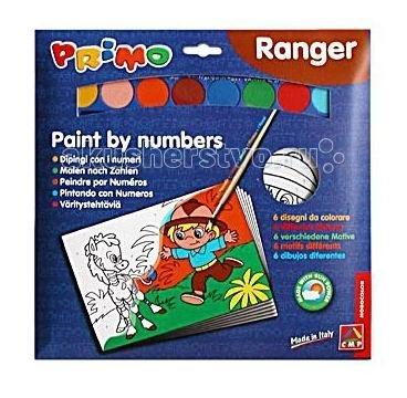 Раскраска Primo по номерам Рейнджерыпо номерам РейнджерыНабор для раскрашивания Рейнджеры включает в себя шесть раскрасок по номерам и акварель.   Изображение разбито на нумерованные фрагменты, каждый номер соответствует определенному цвету.  Раскрашивание развивает творческие способности, формирует вкус, снимает напряжение.   Состав набора:   раскраски по номерам 6 шт. акварель 8 цв. кисть 1 шт.<br>
