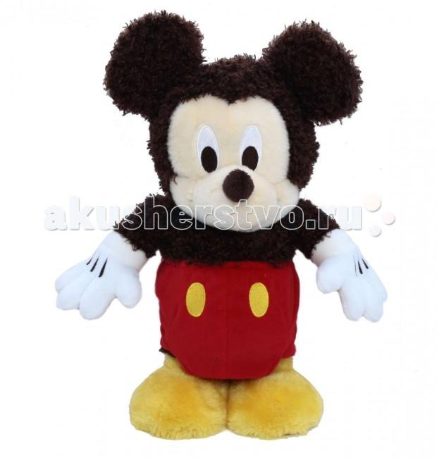 Интерактивная игрушка 1 Toy Танцующий МиккиТанцующий МиккиИнтерактивная игрушка 1 Toy Танцующий Микки развеселит любого ребенка.   Она будет танцевать, если до нее дотронуться или хлопнуть в ладоши.   Медвежонок сделан из гипоаллергенного плюша и качественного синтепона, поэтому он не теряет внешний вид после стирки.   Он работает от 3 батареек AA.<br>