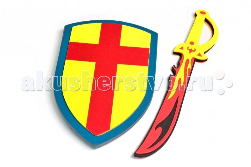 1 Toy Меч и щитМеч и щит1 Toy Меч и щит является абсолютно безопасной игрушкой, сделанной из мягкого материала EVA.   Особенности: Дети могут сражаться на мечах, устраивать поединки, а родители быть спокойны за их здоровье.  Длина меча 40 см.<br>