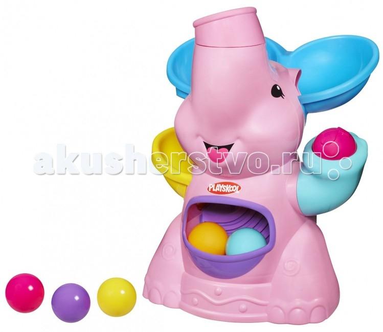Развивающая игрушка Playskool Hasbro Розовый Слоник