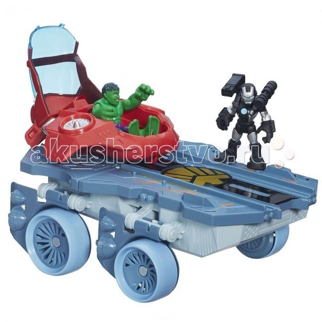 Playskool Hasbro Heroes Вертолетоносец-автомобиль