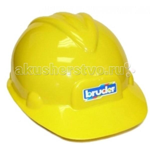 Bruder КаскаКаскаBruder Каска предназначена для маленьких поклонников строительной техники. Она пригодится когда в детской будет раборать строительная техника.   Обхват головы: 53 см<br>
