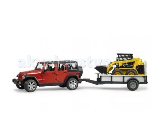 Bruder ����������� Jeep Wrangler Unlimited Rubicon 02-925