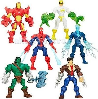 Marvel Marvels Hero Mashers Разборные фигуркиMarvels Hero Mashers Разборные фигуркиФигурка высотой в 15 см, легко разбирается на составные элементы и также собирается обратно, игрушка сопровождается дополнительным аксессуаром. Каждый из элементов обладает единым способом крепления, благодаря чему вы сможете создать самые немыслимые комбинации.  Соберите свою коллекцию героев вселенной Marvels.   В комплекте: разборная фигурка комплект аксессуаров<br>