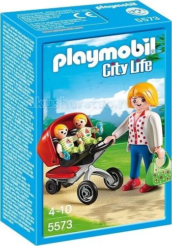Playmobil Детский сад Мама с близнецами в коляске