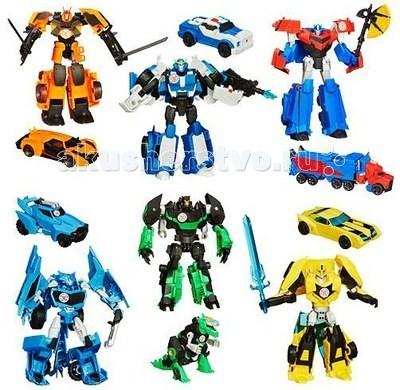 Transformers Hasbro Роботс-ин-Дисгайс ВойныHasbro Роботс-ин-Дисгайс ВойныИгровая фигурка Robots In Disguise от торговой марки Hasbro станет желанным подарком для любого мальчишки, с таким трансформером он сможет придумать множество разнообразных увлекательных игр.  Несколькими простыми движениями, фигурка трансформируется в мощную машину, а затем быстро и легко трансформируется обратно. Трансформация происходит в 7-8 шагов.  Игрушечная модель автобота великолепно детализированная копия героя из популярного мультсериала.  Игрушка выполнена из прочного безопасного высококачественного пластика. Соберите свою команду автоботов, и у десептиконов не останется шансов на земле!  Высота робота: 14 см. Материал: высококачественный пластик.<br>