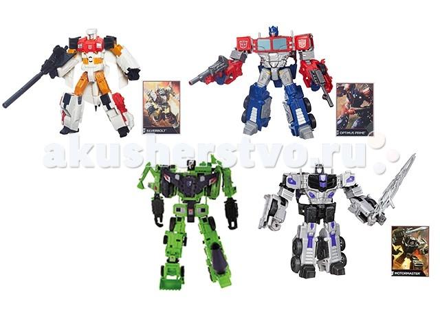 Transformers Hasbro Дженерэйшнс ВояджерHasbro Дженерэйшнс ВояджерФигурка Трансформера из серии Generations Combiner Wars, относящаяся к классу «Вояджер» - это достаточно большая и очень детализированная игрушка, которая способно трансформироваться.   Для каждой фигурки предусмотрено свое количество ступеней трансформации, но в целом оно невелико — около 10.   Вместе с фигуркой робота поставляется карточка коллекционера.   Трансформер превращается в транспортное средство, вид которого также индивидуален для каждого персонажа.   Уникальность этой серии еще и в том, что фигурки можно объединять с фигурками Generations классов «Делюкс», «Лидер», «Легенд» и создавать огромных мега-трансформеров.  Размеры фигурки - 22 см (высота в виде робота)<br>