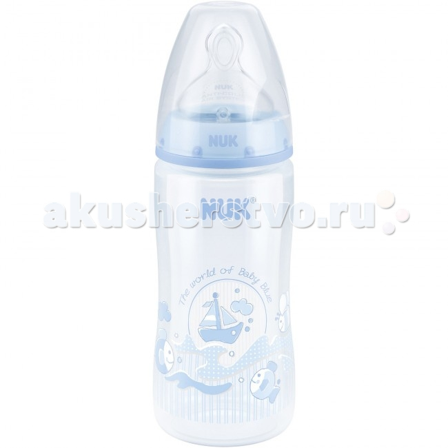 ��������� Nuk First Choice Plus Baby Blue ������� 300 �� ����������� ����� �