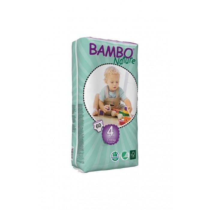 Bambo Nature Подгузники Max (7-18 кг) 60 шт.