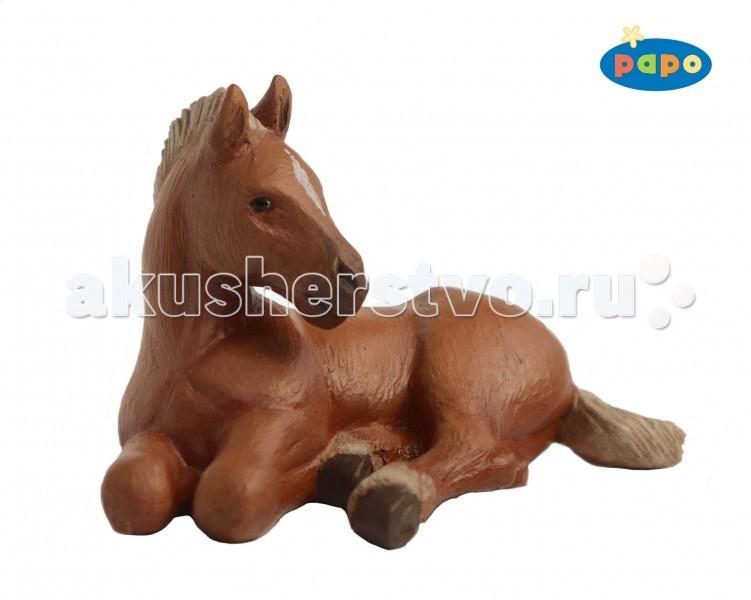 Papo Игровая реалистичная фигурка Жеребёнок американской четвертьмильной лошадиИгровая реалистичная фигурка Жеребёнок американской четвертьмильной лошадиИгровая реалистичная фигурка Жеребёнок американской четвертьмильной лошади 51532  Ручная роспись. Все фигурки Papo проходят тщательную подготовку и обработку, поэтому они крепкие и долговечные.  Материал: высококачественный полимерный материал.<br>