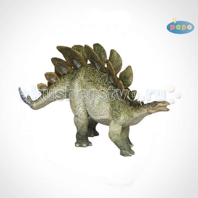 Papo Игровая реалистичная фигурка СтегозаврИгровая реалистичная фигурка СтегозаврИгровая реалистичная фигурка Стегозавр 55007  Ручная роспись. Все фигурки Papo проходят тщательную подготовку и обработку, поэтому они крепкие и долговечные.  Материал: высококачественный полимерный материал.<br>