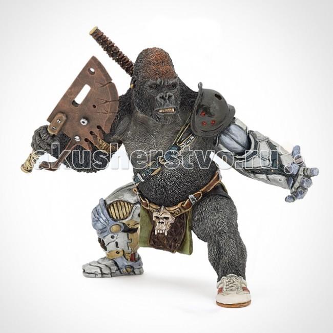 Papo Игровая фигурка Мутант-гориллаИгровая фигурка Мутант-гориллаИгровая фигурка Мутант-горилла 38974  Ручная роспись. Все фигурки Papo проходят тщательную подготовку и обработку, поэтому они крепкие и долговечные.  Материал: высококачественный полимерный материал.<br>
