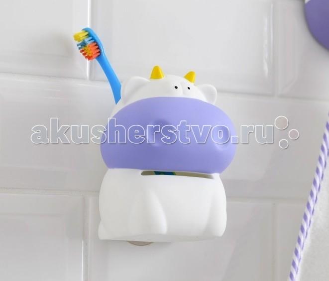 Moroshka kids Стаканчик для зубных щеток МарьяшаСтаканчик для зубных щеток МарьяшаMoroshka kids Стаканчик для зубных щеток Марьяша на присоске превратит для малыша повседневное купание в веселое приключение.  В коллекциях детских аксессуаров предусмотрено все, что нужно для принятия ванны, обеспечения безопасности ребенка и просто для удобства.   Особенности: Протирать мягкой тряпкой, использовать щадящие моющие средства.  Не рекомендуется нагревать предметы выше 40°С.  Размер изделия: 12х7,5х11,5 см<br>