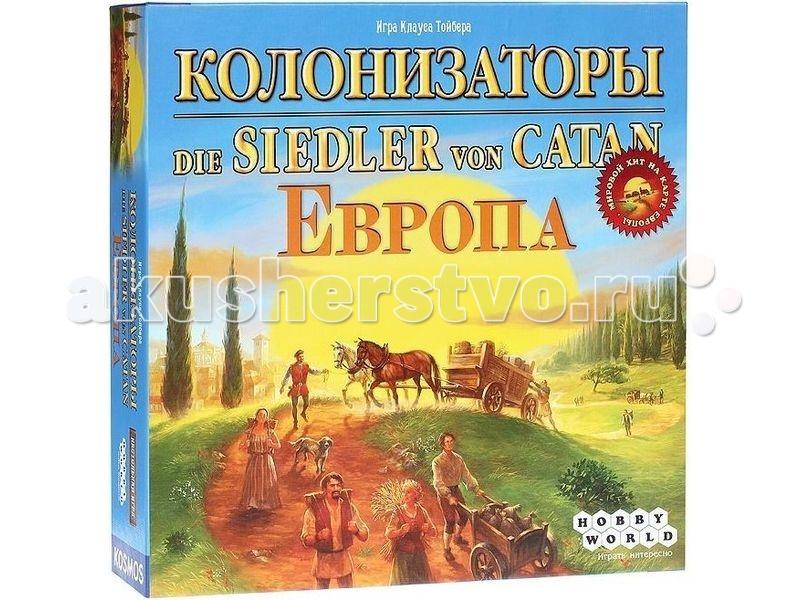 Hobby World Настольная игра Колонизаторы. Европа