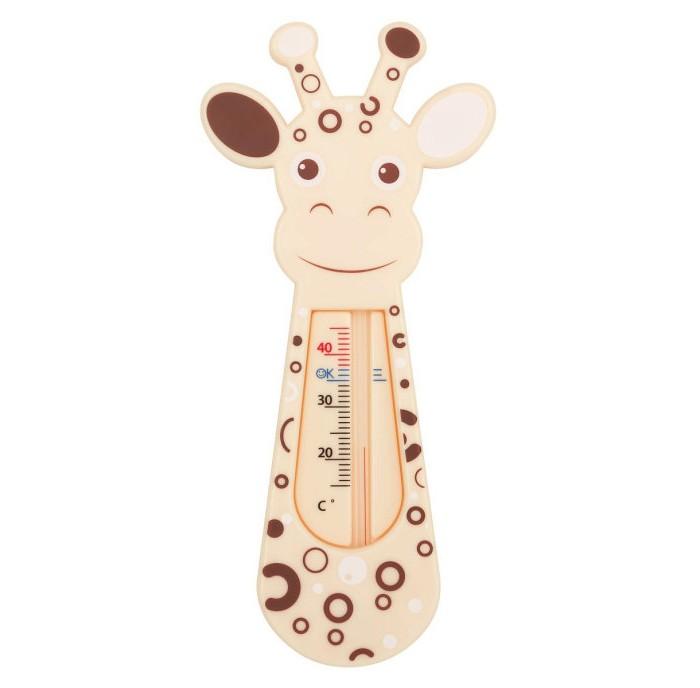 Термометр для воды Roxy GiraffeGiraffeТермометр для воды Roxy Giraffe точно измеряет температуру воды в ванной. Изделие плавает на поверхности и может оставаться в воде во время всего купания, так как не содержит ртути.   Безопасный и практичный: разборчивая шкала не содержит ртути определение температуры воды, идеальной для малыша точное измерение температуры воды плавает на поверхности воды весёлые, яркие цвета<br>