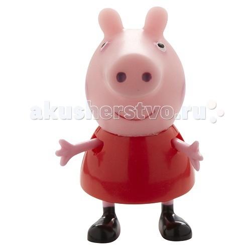 Peppa Pig Любимый персонаж в ассортиментеЛюбимый персонаж в ассортиментеФигурки Пеппы и ее друзей станут прекрасным дополнением к любому игровому набору из серии «Свинка Пеппа».   Игрушки с двигающимися ручками и ножками могут сидеть и стоять. Они изготовлены из безопасного пластика и привлекают внимание малыша яркими цветами.   В ассортименте вы найдете 4 фигурки героев высотой примерно 5 см, предоставляющиеся в зависимости от их наличия: свинка Пеппа, Джордж, кролик Ребекка и овечка Сьюз.   Веселые персонажи, воплотившись в игрушках, выглядят еще забавнее, чем на экране.<br>