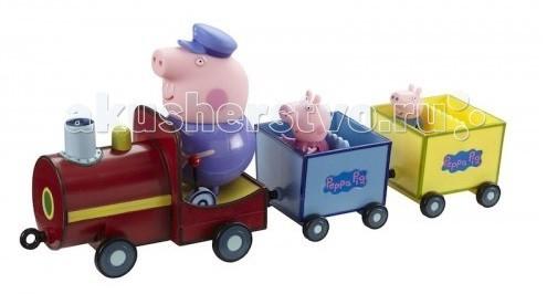 Peppa Pig Игровой набор Паровозик дедушки Пеппы со звуком