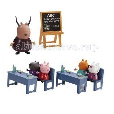 Peppa Pig Игровой набор Идем в школу