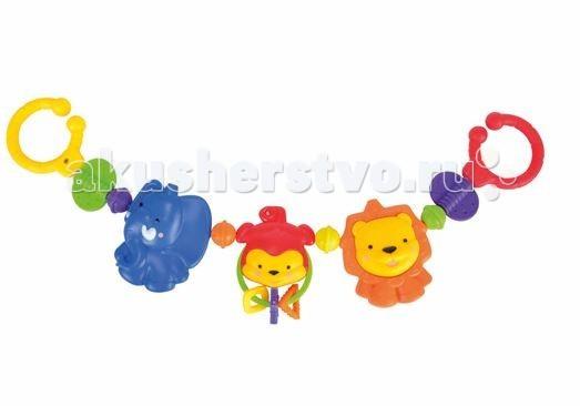 Подвесная игрушка Simba ABS погремушка Животные