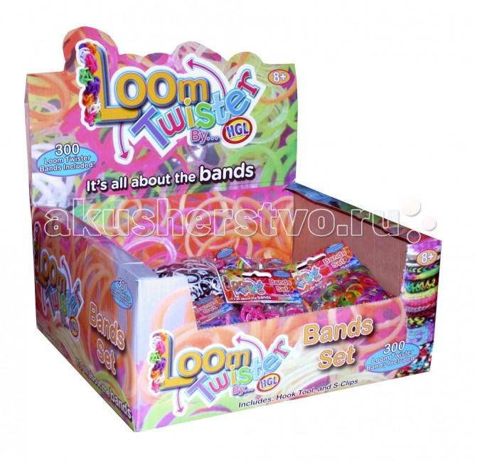 Loom Twister Набор цветных ароматизированных резинок для плетения фенечек
