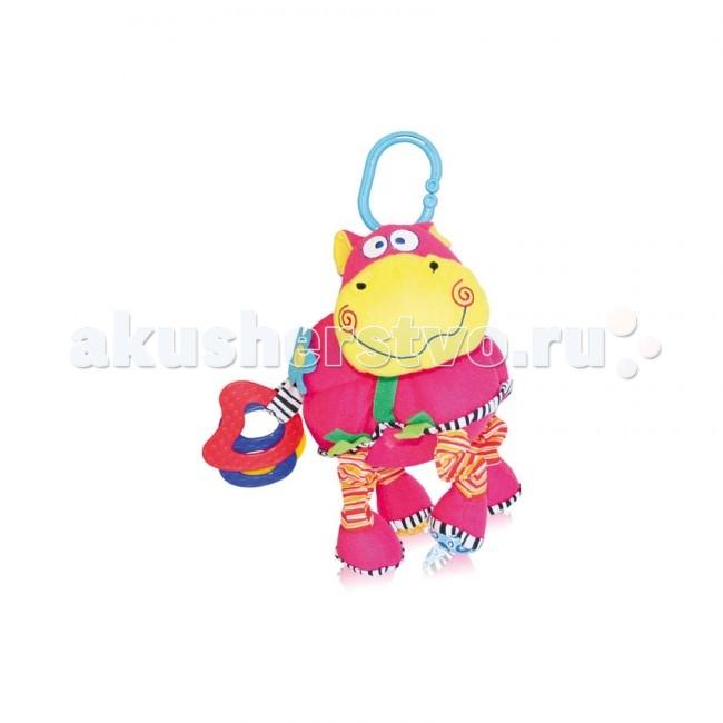 Подвесная игрушка Bertoni (Lorelli) Бегемот вибро смех