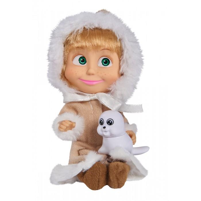 Simba Кукла Маша 9301680Кукла Маша 9301680Кукла Simba Маша в разных образах.  4 костюма на выбор: врач, снегурочка, эскимоска, день рождения.<br>
