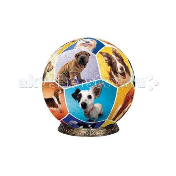 Pintoo Шаровой пазл Мир собак от Акушерство