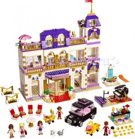 ����������� Lego Friends �������� ����� ����� � �������� ����