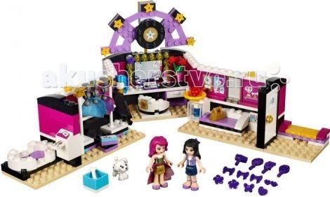 Конструктор Lego Friends Подружки Поп звезда: гримерная