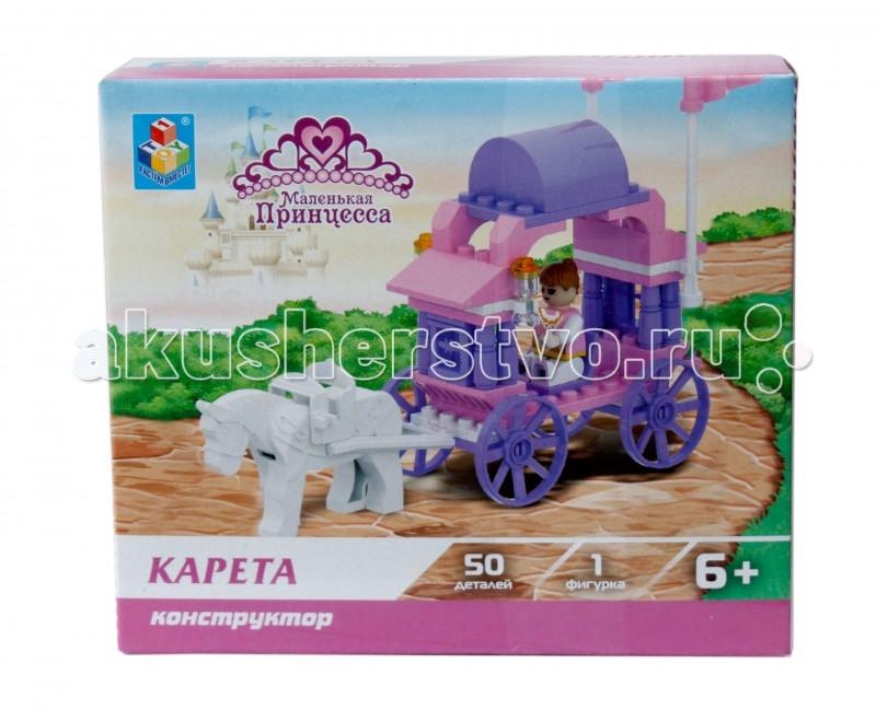 Конструктор 1 Toy Маленькая принцесса Карета (50 деталей)