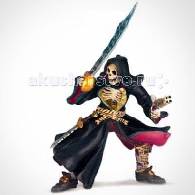 Papo Игровая фигурка Скелет-пиратИгровая фигурка Скелет-пиратИгровая фигурка Скелет-пират 38919  Ручная роспись.  Все фигурки Papo проходят тщательную подготовку и обработку, поэтому они крепкие и долговечные.  Материал: высококачественный полимерный материал.<br>