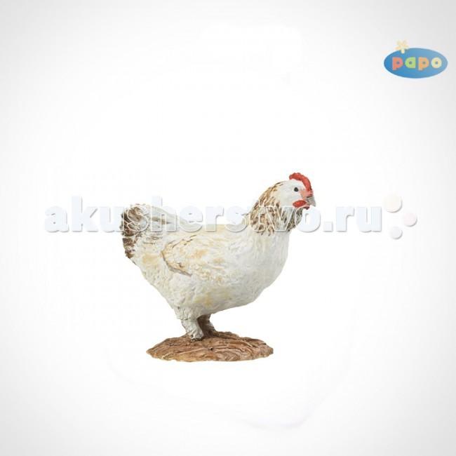 Papo Игровая реалистичная фигурка Белая курица