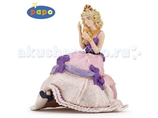 Papo Игровая реалистичная фигурка Сидящая принцессаИгровая реалистичная фигурка Сидящая принцессаИгровая реалистичная фигурка Сидящая принцесса 39033  Ручная роспись.  Все фигурки Papo проходят тщательную подготовку и обработку, поэтому они крепкие и долговечные.  Материал: высококачественный полимерный материал.<br>