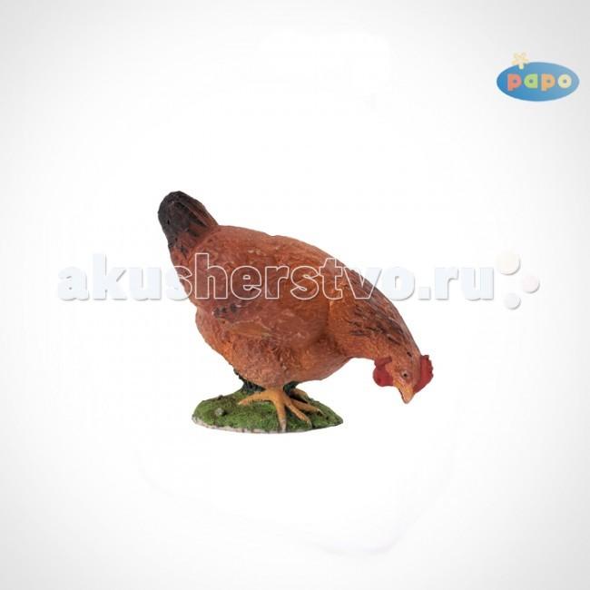 Papo Игровая реалистичная фигурка Рябая курица