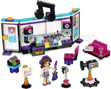Конструктор Lego Friends Поп звезда: студия звукозаписи