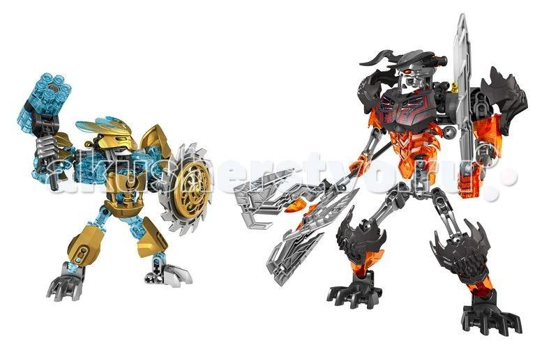 Lego Bionicle 70795 Лего Создатель Масок против Стального Черепа