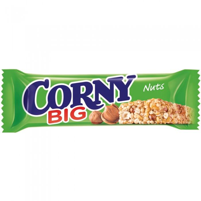 Corny Злаковый батончик Big с лесным орехом 50 г