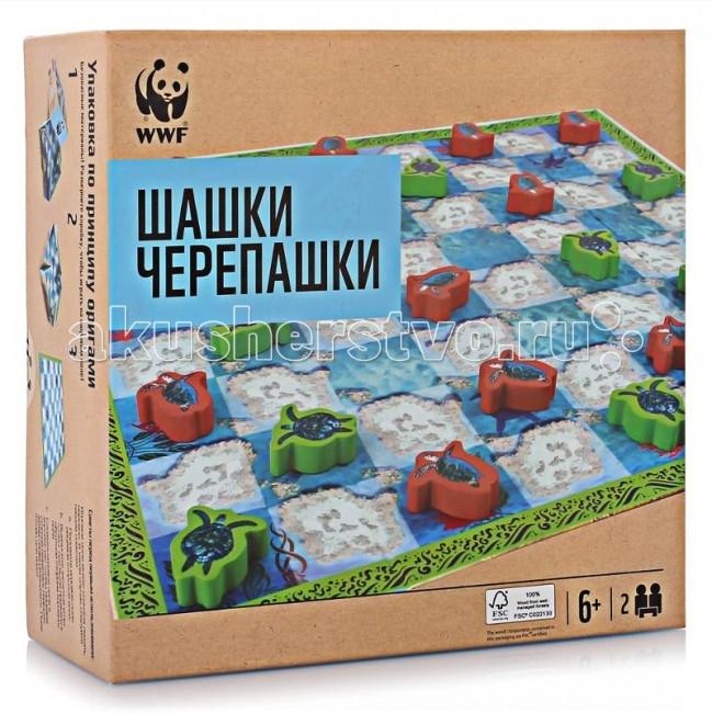 WWF Шашки Черепашки