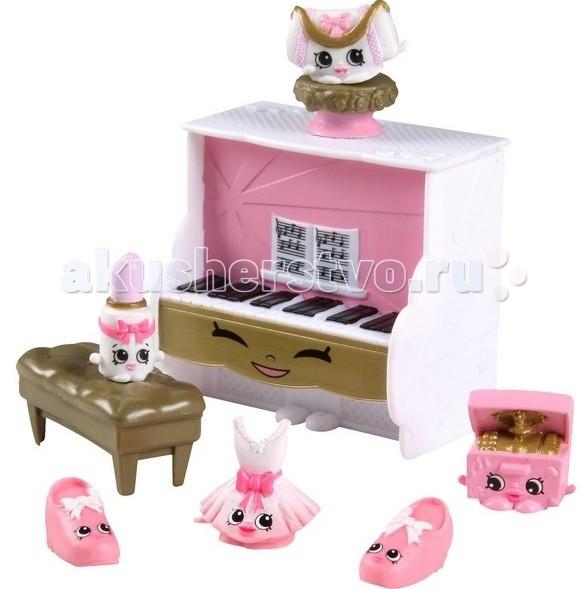 Shopkins Игровой набор Модные тренды pink/ast56091Игровой набор Модные тренды pink/ast56091Moose Shopkins Игровой набор Модные тренды - восхитительный набор, специально разработанный для девочек от 5 лет, приятно удивит и, несомненно, обрадует юную поклонницу Шопкинсов.   Каждая деталь набора, выполненная из качественной нетоксичной и безопасной пластмассы, аккуратно проработана.   Яркий неповторимый дизайн и забавные милые герои Шопкинс в комплекте обеспечат увлекательный игровой процесс, который способствует совершенствованию воображения и мелкой моторики.  Shopkins – милые и нежные коллекционные игрушки для девочек, изображающие ожившие продукты: овощи, фрукты, соусы, сладости и т.п. У каждого из персонажей своя мордочка с яркими глазами и улыбкой. Всего в первой серии вышло около 150 шопкинсов, которые обязательно понравятся всем девочкам.<br>