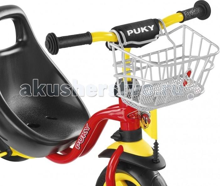 Puky Передняя корзина для трехколесных велосипедов и самокатовПередняя корзина для трехколесных велосипедов и самокатовКорзина Puky LK DR на руль для трехколесных велосипедов - удобный аксессуар, подходит для велосипедов PUKY CAT 1S, CAT 1L, CAT S6.  Прекрасное хранилище для мелков и мелких игрушек.<br>