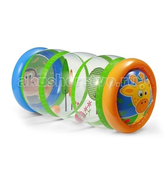 Развивающая игрушка BabyOno Надувной цилиндр с шариками