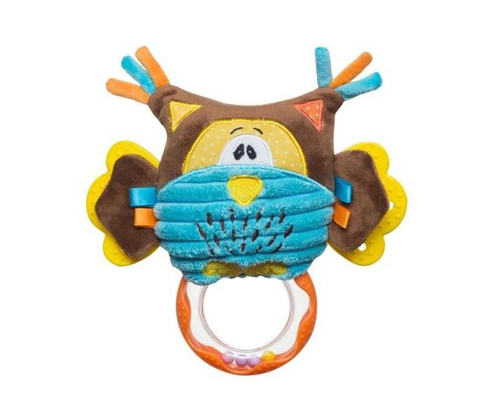 Подвесная игрушка BabyOno Совенок с погремушкой