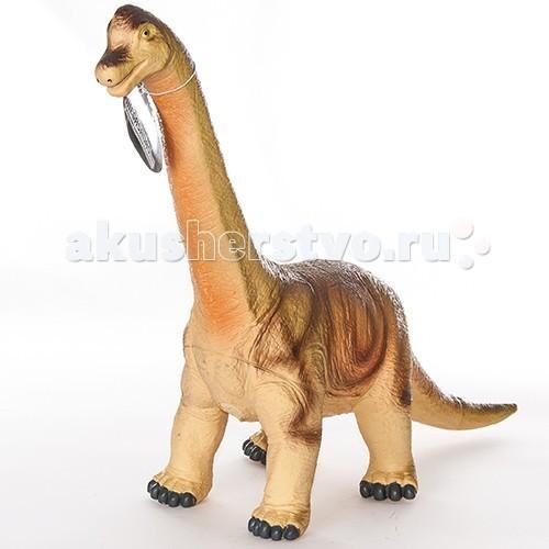 Megasaurs (HGL) Фигурка динозавра БрахиозаврФигурка динозавра БрахиозаврMegasaurs (HGL) Фигурка динозавра - Брахиозавр - выполнена из высококачественного материала, внешний вид динозавра основан на реальных палеонтологических данных.   Брахиозавр жил в конце Юрского Периода. В высоту он достигал 13 метров, а в длину - 20 метров. Питался динозавр листвой, которую потреблял в огромном количестве, чтобы обеспечить энергией свое огромное тело. Массивный и неповоротливый, брахиозавр, тем не менее, мог сокрушить хищника одним ударом своего мощного хвоста.<br>