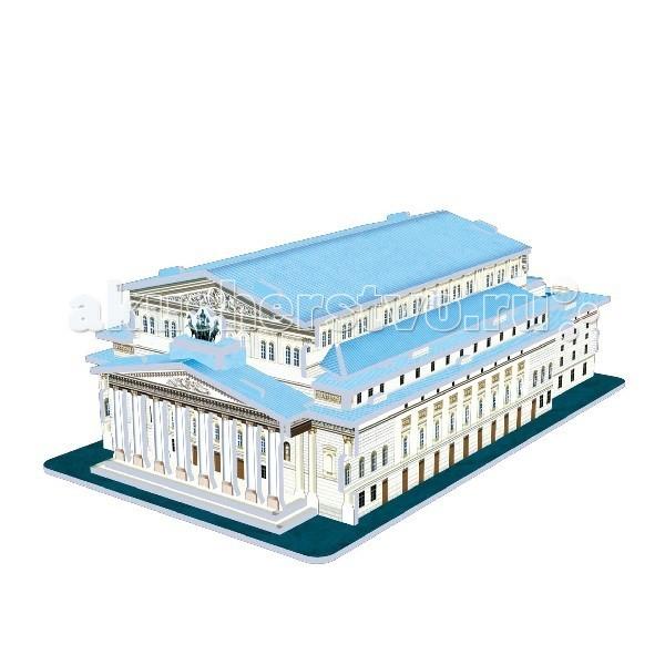 Конструктор CubicFun 3D пазл Большой театр Россия