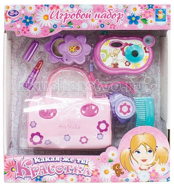 1 Toy Набор для девочек Красотка (6 элементов)