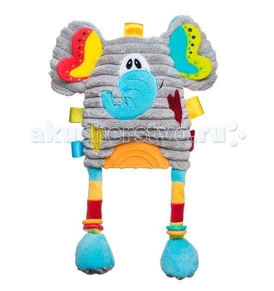 Подвесная игрушка BabyOno Слоник с прорезывателем