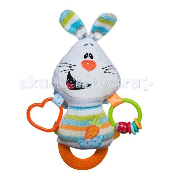 Подвесная игрушка BabyOno Кролик с прорезывателем